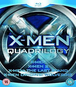 X-Men: Quadrilogy Blu-ray