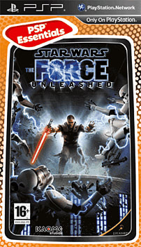 Star Wars: The Force Unleashed (PSP Essentials) PSP Cover Art