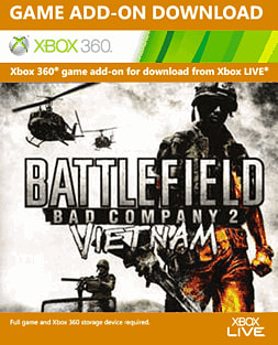 Battlefield: Bad Company 2 - Vietnam Xbox Live Cover Art