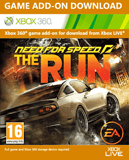 Need For Speed: The Run Online Pass Xbox Live Cover Art