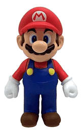 Assorted Super Mario 12cm Figures Accessories