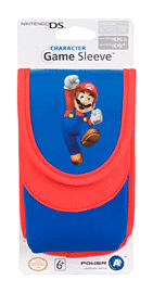 Nintendo 3DS and DS Mario Game Sleeve Accessories 