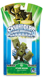 Skylanders: Character Stump Smash Toys and Gadgets 