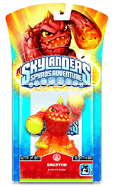 Skylanders: Character - Eruptor Toys and Gadgets 