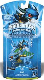 Skylanders: Character - Zap Toys and Gadgets