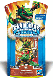 Skylanders: Character - Dino-Rang Toys and Gadgets 
