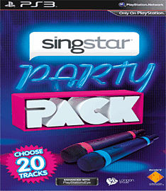 SingStar Party Pack PlayStation 3 Cover Art