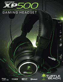 Turtle Beach Ear Force XP500 Wireless Headset for Xbox 360 Accessories