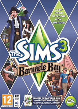The Sims 3: Barnacle Bay PC Games Cover Art