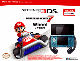 Nintendo 3DS Mario Kart Wheel Accessories 