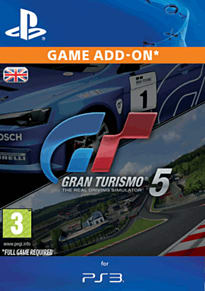 Gran Turismo 5 Complete Pack PlayStation Network Cover Art