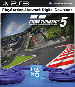 Gran Turismo 5 Course Pack PlayStation Network Cover Art