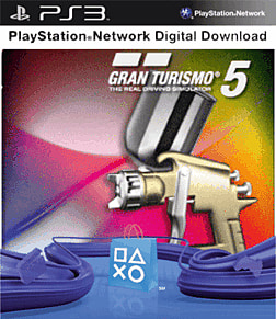 Gran Turismo 5 Special Paint Pack PlayStation Network Cover Art