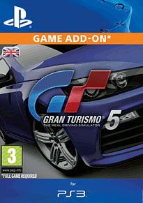 Gran Turismo 5 Racing Car Pack PlayStation Network Cover Art