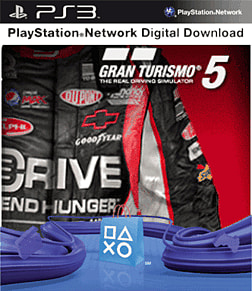 Gran Turismo 5 Racing Gear Pack PlayStation Network Cover Art