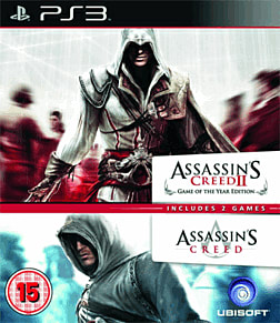 Ubisoft Double Pack: Assassin's Creed 1 / Assassin's Creed 2 PlayStation 3 Cover Art