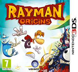 Rayman Origins 3DS Cover Art