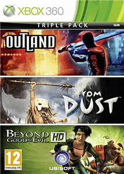 Ubisoft Triple Pack: Beyond Good & Evil / From Dust / Outland Xbox 360 Cover Art