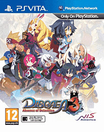 Disgaea 3: Absence of Detention PS Vita Cover Art