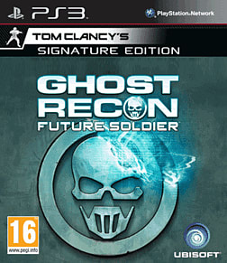Tom Clancy's Ghost Recon: Future Soldier Signature Edition PlayStation 3 Cover Art