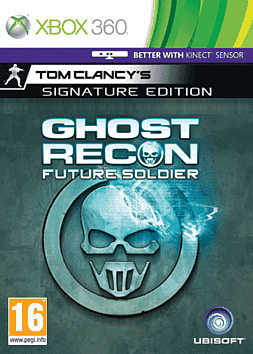 Tom Clancy's Ghost Recon: Future Soldier Signature Edition Xbox 360 Cover Art