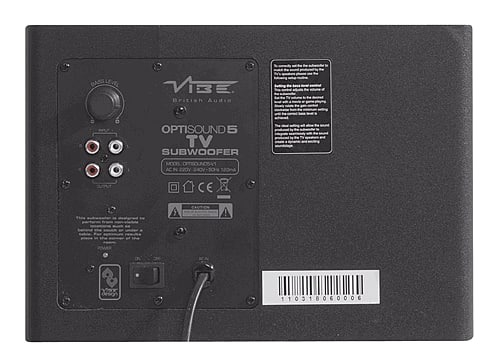 VIBE Optisound Subwoofer for PS3, Xbox 360 and Wii Review at GAME