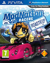 ModNation Racers: Road Trip PS Vita Cover Art