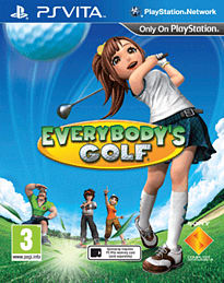 Everybody's Golf PS Vita Cover Art