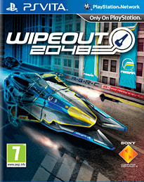 Wipeout 2048 PS Vita Cover Art