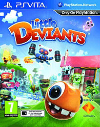 Little Deviants PS Vita Cover Art