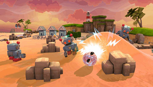 Pus, prod, roll, steer - Little Deviants on PS Vita
