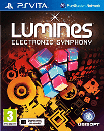 Lumines PS Vita Cover Art