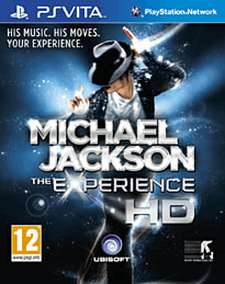 Michael Jackson: The Experience PS Vita Cover Art