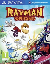 Rayman Origins PS Vita Cover Art