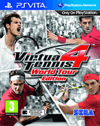 Virtua Tennis 4 - World Tour Edition PS Vita Cover Art