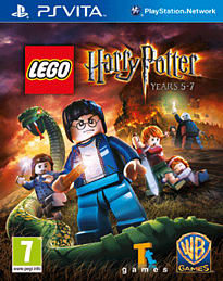 LEGO Harry Potter: Years 5-7 PS Vita Cover Art