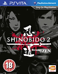Shinobido 2: Revenge of Zen PS Vita Cover Art