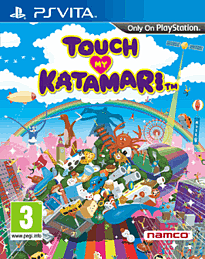 Touch My Katamari PS Vita Cover Art