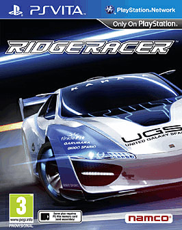 Reviewing Ridge Racer on PS Vita at GAME 