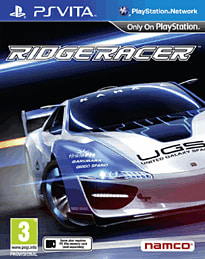 Ridge Racer PS Vita Cover Art