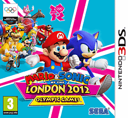 Mario and Sonic at the London 2012 Olympic Games 3DS Cover Art