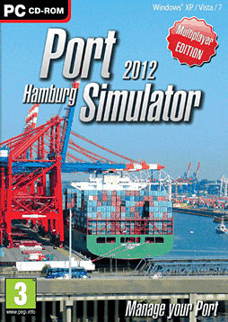Port Simulator 2012 Hamburg PC Games Cover Art