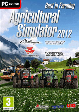Agricultural Simulator 2012 PC Games Cover Art