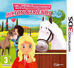 Riding Stables: The Whitakers present Milton and Friends 3DS Cover Art