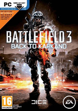 Battlefield 3: Back to Karkand PC Games Cover Art