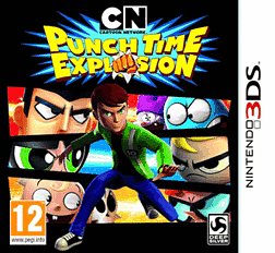 Cartoon Network: Punch Time Explosion 3DS Cover Art