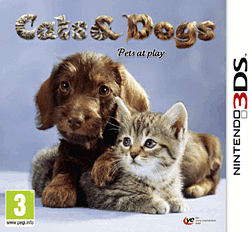 Cats & Dogs: Pets at Play 3DS Cover Art
