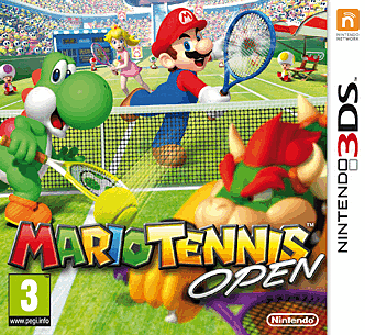 Take to the court in Mario Tennis Open on Nintendo 3DS at GAME