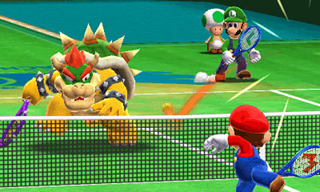 We review Chance Shots, Ring Shots and more in Mario Tennis Open on 3DS at GAME