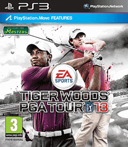 Tiger Woods PGA Tour 2013 PlayStation 3 Cover Art
